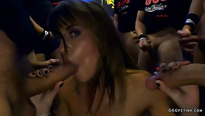 Astonishing anal with cums on shaved silvia dellai