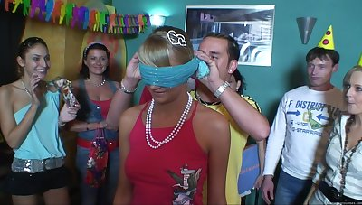 Hardcore group sex during a brithday be worthwhile for slutty chick Anetta
